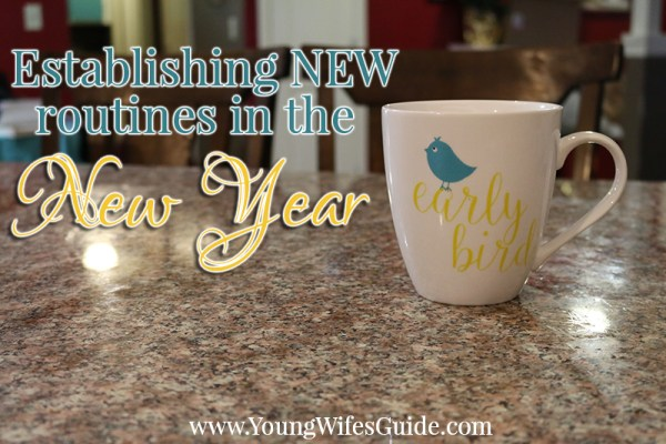 New routines for a new year
