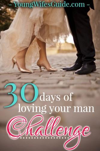 30 days of loving your man challenge