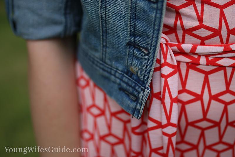 My favorite stitch fix dress