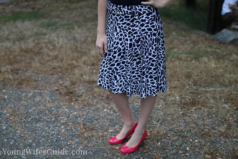 My favorite stitch fix skirt