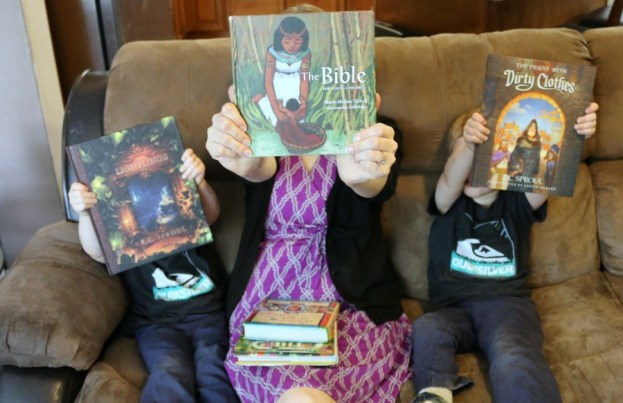 Gospel Centered Kids Books that rock!