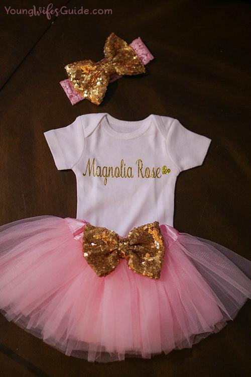 Sweet baby girl Magnolia Rose!
