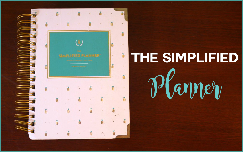 The Simplified Planner copy