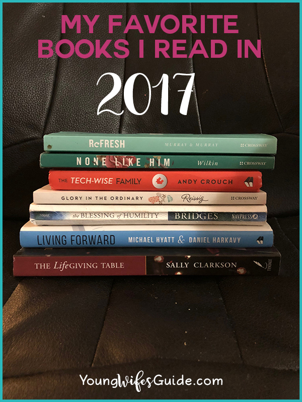 My 10 Favorite Books From 2017 Hf 106 Young Wife S Guide
