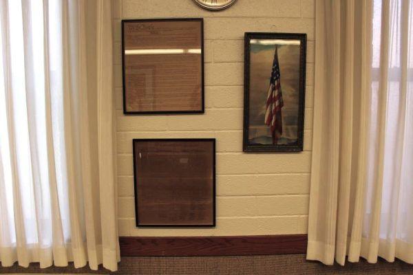 Courtroom decor