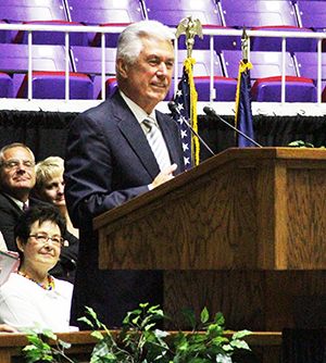 President  Dieter F. Uchtdorf at Ogden Pioneer Days Celebration
