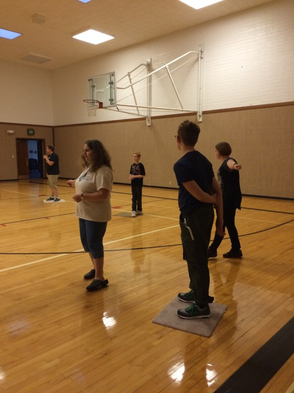 combined Young Men and Young Women activity was Hunger Games (nerf style)