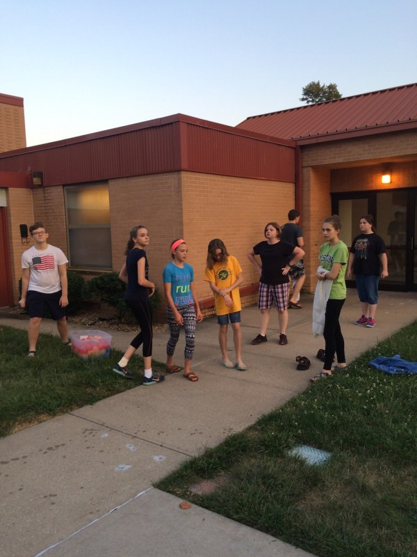 Water Balloon Volleyball Mutual Activity