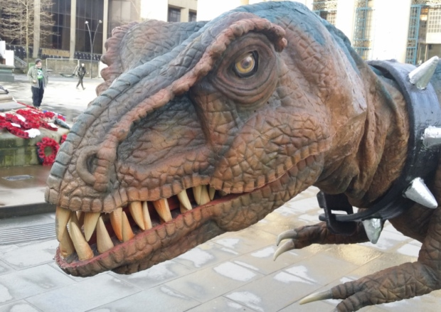 Because if Doms could pick any animal they would be, it would be a dinosaur. It's in the Secret Domly Dom Manual that Doms are dinosaurs!