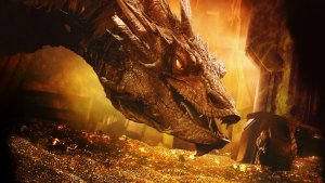 Smaug est un parfait exemple de dragon occidental