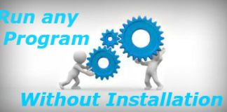 Run Windows Programs Without INstalling Them