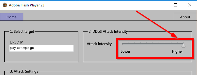 minekraft ddoser attack settings