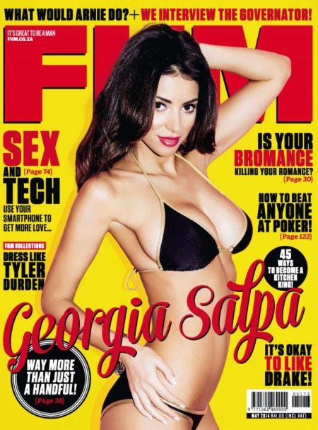 Georgia Salpa2 782x1024 - Georgia Salpa for FHM Magazine South Africa