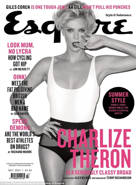 Charlize Theron21 - Charlize Theron for Esquire Magazine