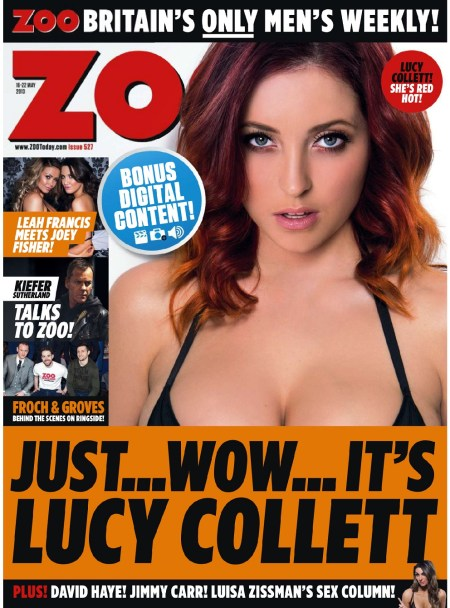 Lucy Collett 758x1024 - Lucy Collett looking pretty sexy for Zoo Magazine