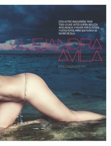Alejandra Avila8 - Alejandra Avila for SoHo Magazine Colombia