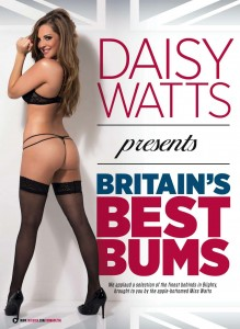 Daisy Watts6 - Daisy Watts presents Britain's Best Bums for Zoo Magazine