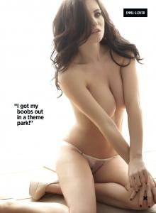Emma Glover1 - Emma Glover very sexy for Nuts Magazine