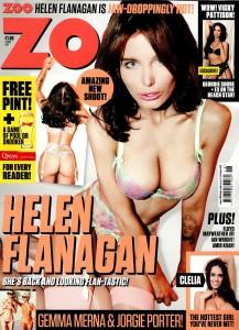 Helen Flanagan - Helen Flanagan for Zoo Magazine