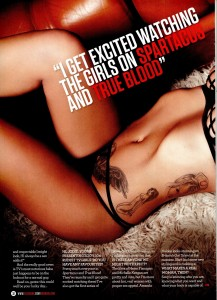 Jodie Marsh9 - Jodie Marsh presents 104 Rudest Girls on TV for Zoo Magazine