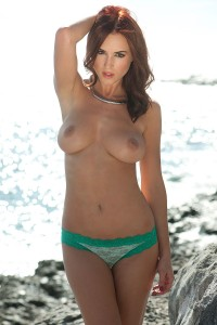 03 - Rosie Jones at the beach with Page 3