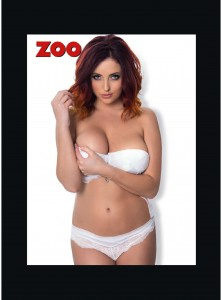 Lucy Collett1 - Lucy Collett looking pretty sexy for Zoo Magazine