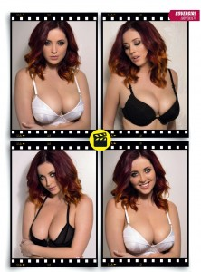 Lucy Collett2 - Lucy Collett looking pretty sexy for Zoo Magazine