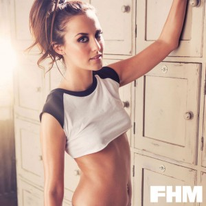Lucy Watson3 - Lucy Watson for FHM Magazine