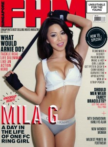 Mila G - Mila G for FHM Magazine Singapore