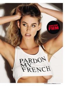 Rachel Kay8 - Rachel Kay for FHM Magazine South Africa