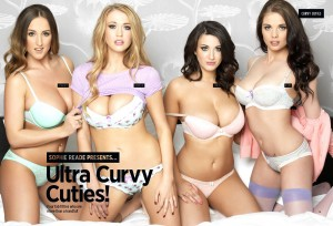 Ultra Curvy Cuties Nuts UK Tablet Edition 040414 02 - Sophie Reade & Friends present Ultra Curvy Cuties for Nuts Magazine