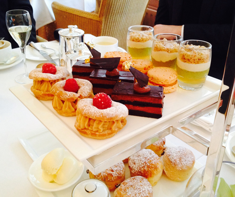 afternoon teas in Britain