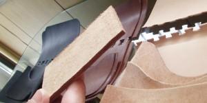 床革(とこがわ)による型作り