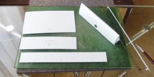 ペンケースの型紙(体験コース用サンプル)