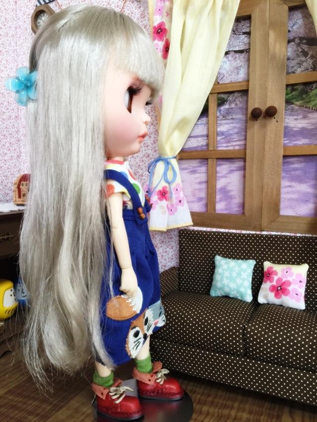 櫻さんのブライス写真、はじめての横顔?