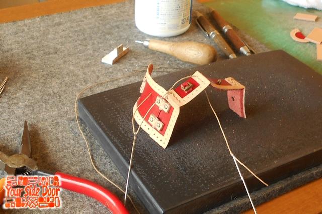 マグネットのぷち宝箱の制作の様子です