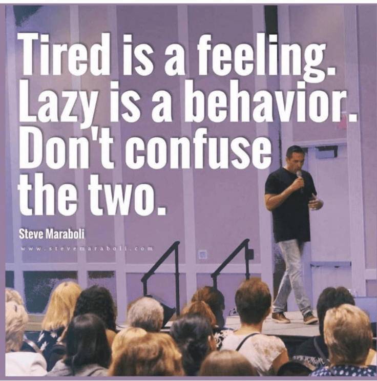 Your Startup Guru lazy vs tired