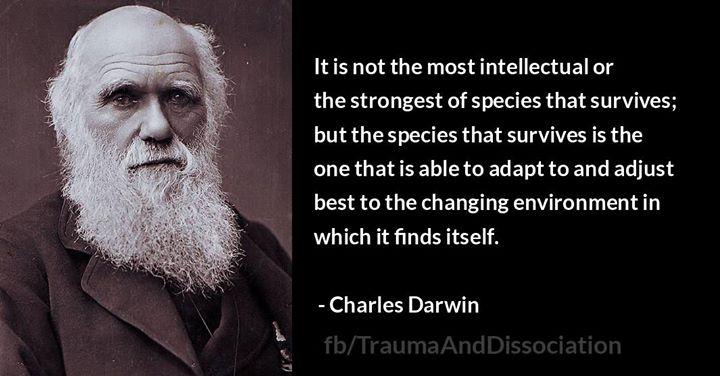 Adaptability Charles Darwin - Your Startup Guru