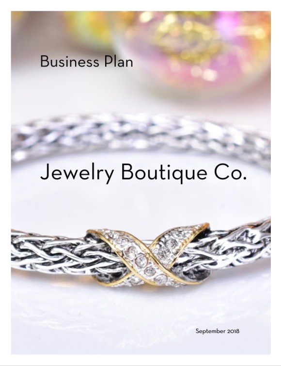 Sample Business Plan - Jewelry Boutique Co. - Your Startup Guru