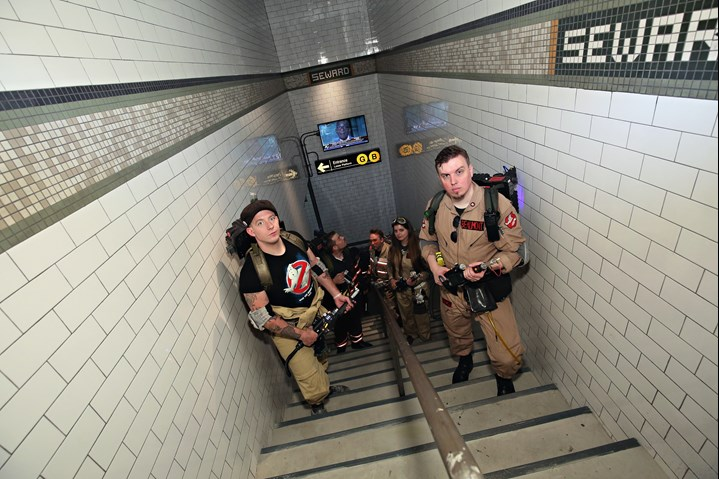 The Ghostbusters Experience Tussauds New York