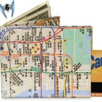Porte Feuille métro New York