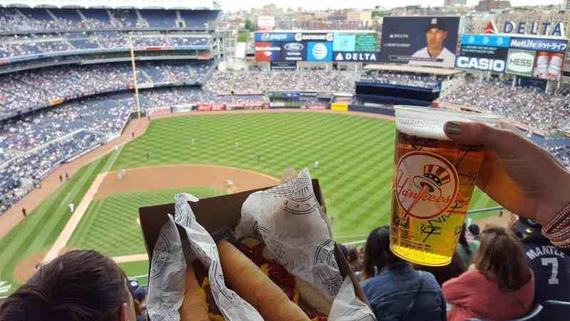 assister à un match de baseball à New York