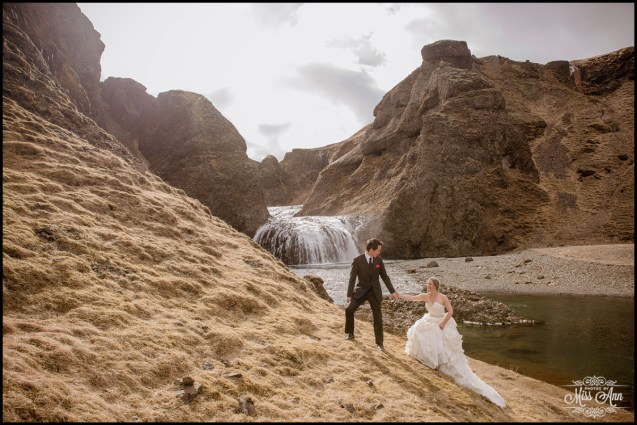unique-private-waterfall-weddings-iceland