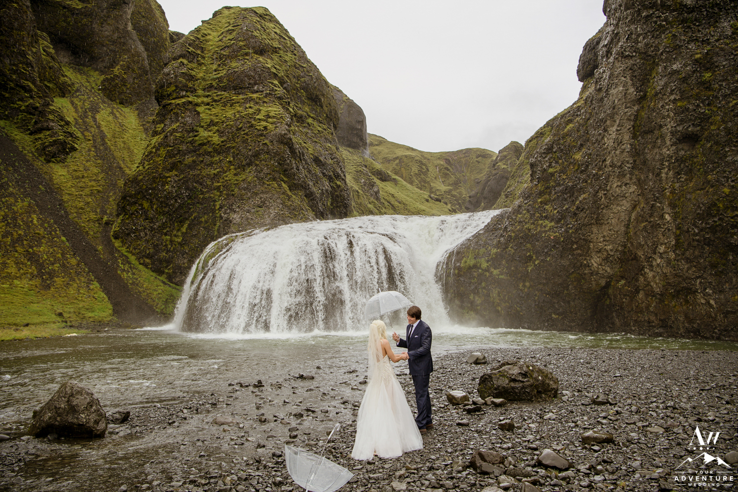 Iceland Wedding Day First Look