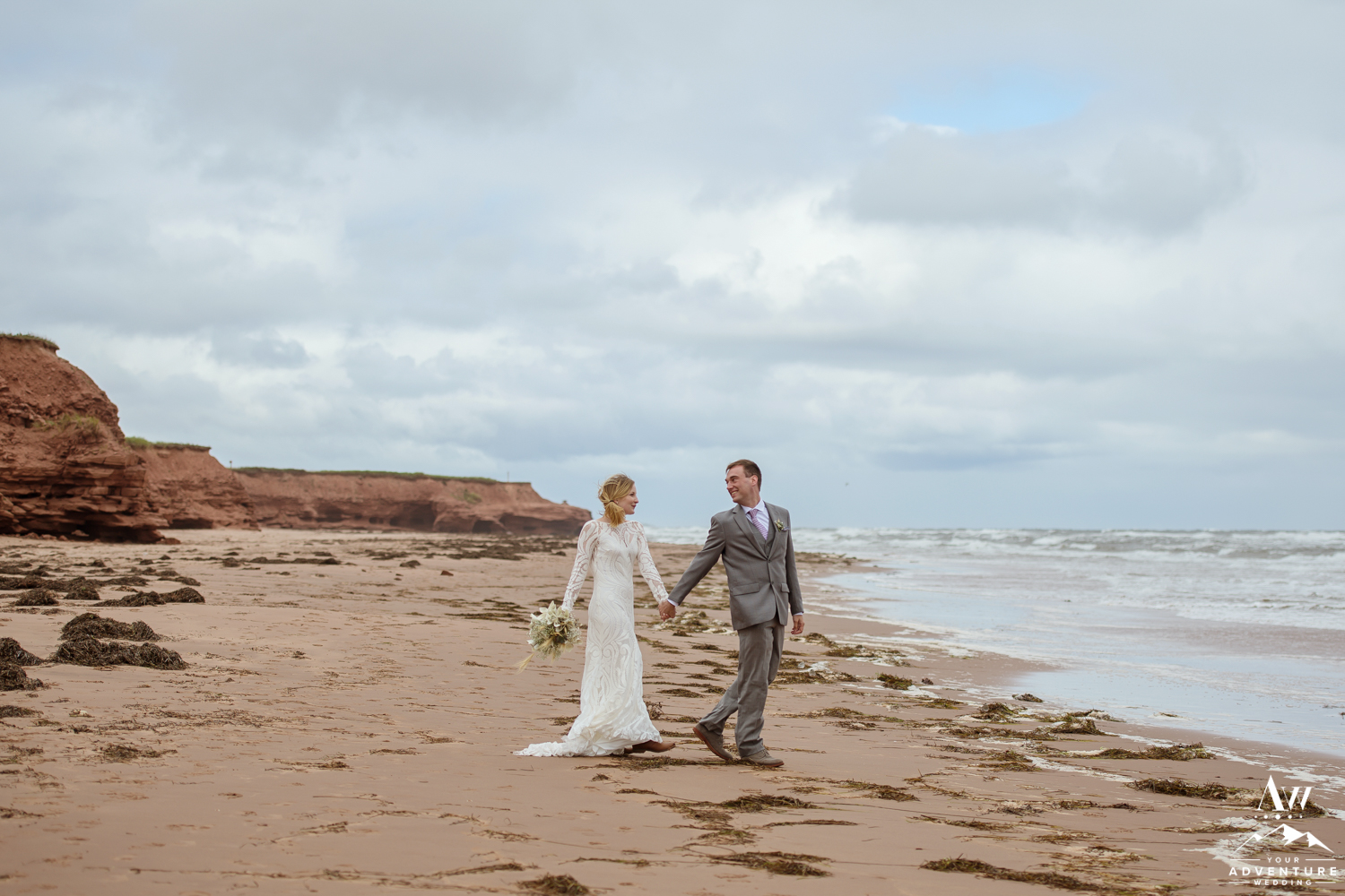 Thunder Cove Wedding Portraits PEI