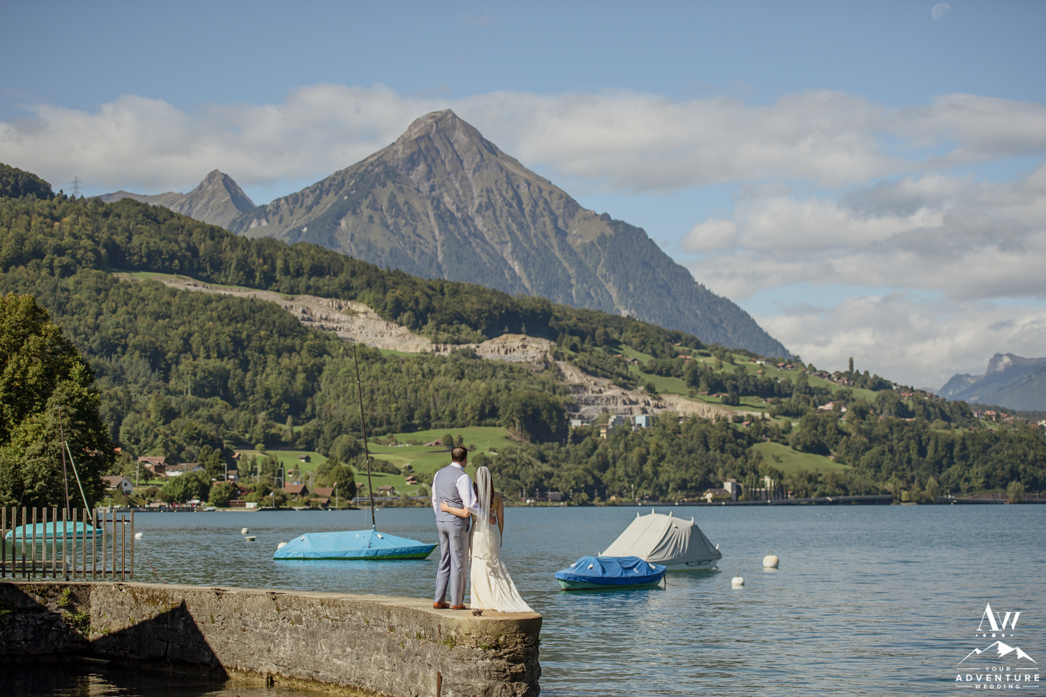 Interlaken Switzerland Elopement Photo