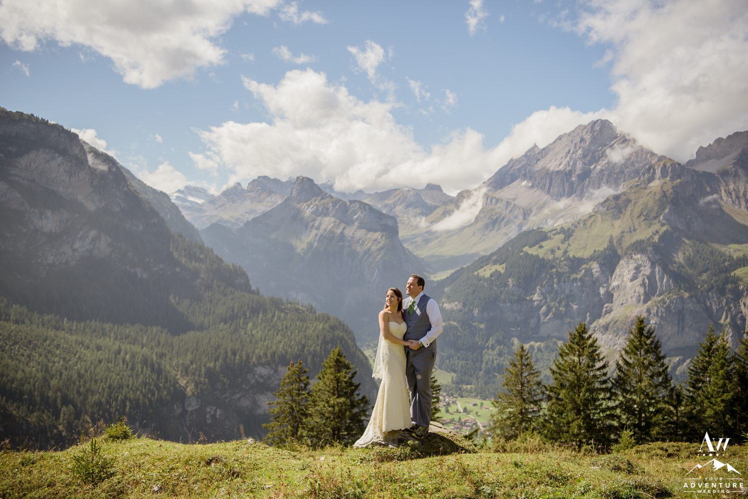 Swiss Alps Wedding Photos