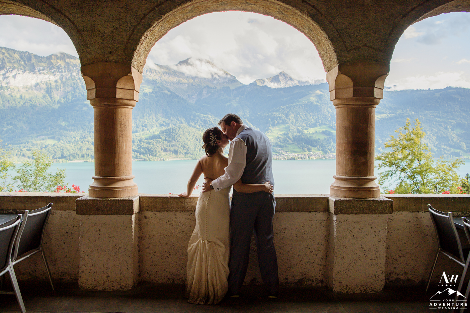 Interlaken Wedding Photos at st beatus caves