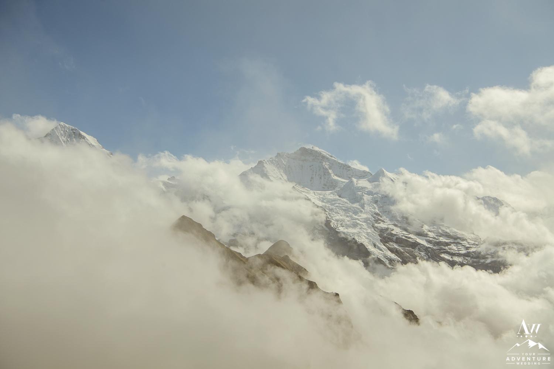 Männlichen Mountain in the Swiss Alps