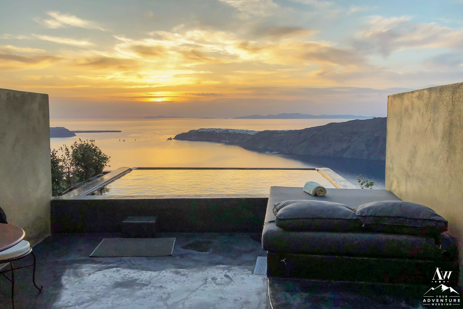 Santorini Wedding Hotel Andronis Concept Wellness Resort